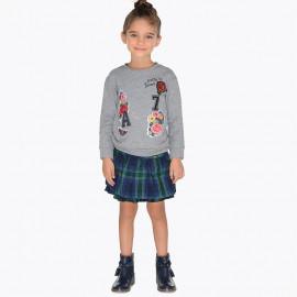 Mayoral 4914-11 sukně holčičí Barva granátu