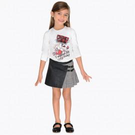 Mayoral 4916-81 Dívčí sukně černá