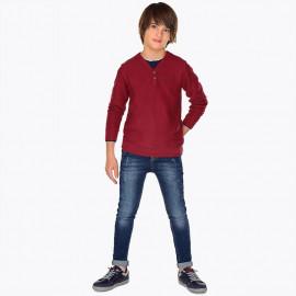 Mayoral 7518-5 kalhoty chlapci barva tmavé džíny