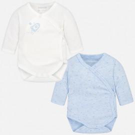 Mayoral 2702-51 tělo chlapců 2 kusy barva bílá/modrá