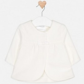 Mayoral 1403-49 kabát dívčí barvy krém