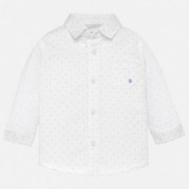 Mayoral 117-29 Chlapčenská košile bílá barva