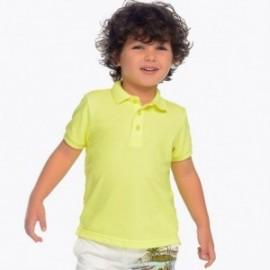 Mayoral 150-10 Chlapčenská košile pólo barva žlutý