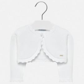 Mayoral 306-27 Dívčí svetr barva bílá