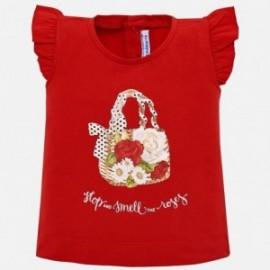 Mayoral 1016-30 Dívčí košile v červené barvě
