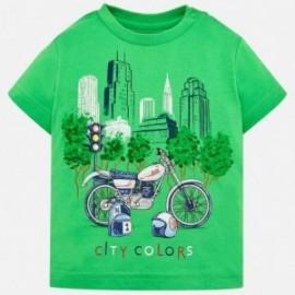 Mayoral 1020-37 Chlapčenská košile zelená barva