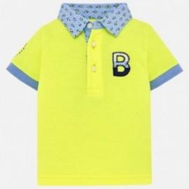 Mayoral 1116-47 Polo chlapci barva žlutý