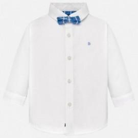 Mayoral 1132-90 Chlapec košile bílé barvy