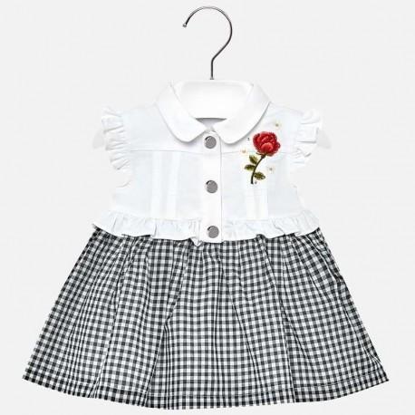 Mayoral 1933-31 Dívčí šaty bílé barvy