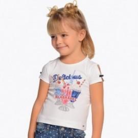 Mayoral 3003-63 tričko dívčí barva Bílá