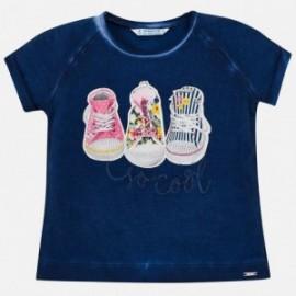 Mayoral 3004-81 tričko holčičí barva granát