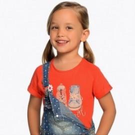 Mayoral 3004-80 Dívčí košile červená barva
