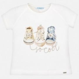 Mayoral 3004-82 tričko holčičí barva krém