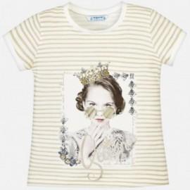 Mayoral 3010-38 Dívčí košile Barva šampaňského