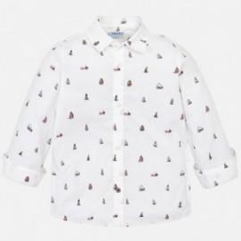 Mayoral 3137-78 Chlapec košile bílé barvy