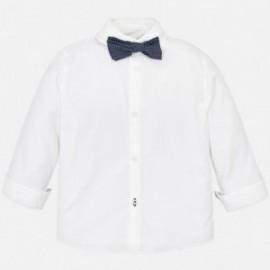 Mayoral 3139-63 Chlapčenská košile bílé barvy
