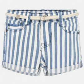 Mayoral 3209-9 Dívčí šortky barva modrý