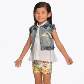 Mayoral 3210-27 Dívčí šortky barva žlutý
