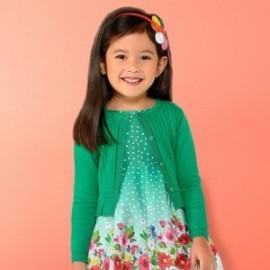 Mayoral 3303-82 Dívčí svetr zelená barva