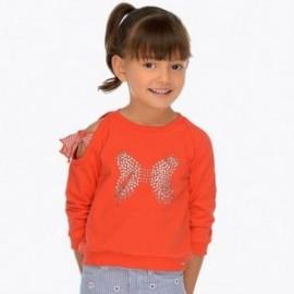 Mayoral 3401-81 Dívčí blůza v červené barvě