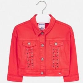 Mayoral 3407-17 Dívčí bunda červená barva