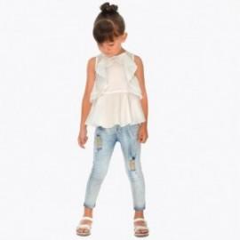 Mayoral 3503-45 Jeans kalhoty dívčí barva modrý
