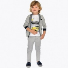 Mayoral 3513-38 Chlapčenské kalhoty barva šedá