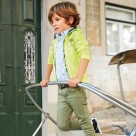 Mayoral 3518-92 Chlapčenské kalhoty olivové barvy