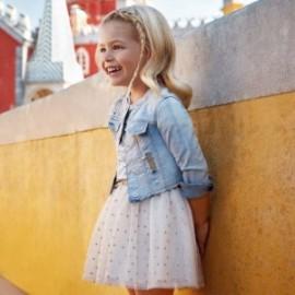 Mayoral 3902-67 sukně holčičí Zlatá barva