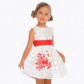 Mayoral 3916-95 Dívčí šaty červená barva