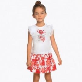 Mayoral 3956-95 Dívčí set červená barva