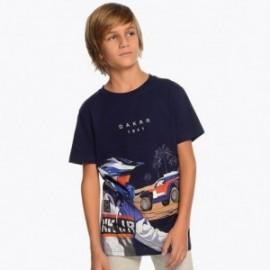 Mayoral 6037-80 tričko chlapci barva námořnictva