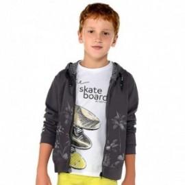 Mayoral 6038-94 Chlapčenské tričko bílé barvy
