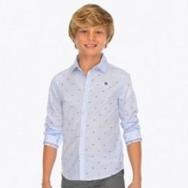Mayoral 6130-15 košile chlapci barva modrý