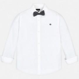 Mayoral 6131-14 košile chlapci bílé barvy
