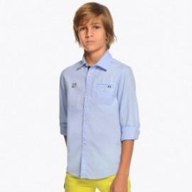 Mayoral 6133-89 Chlapecká košile modrá barva