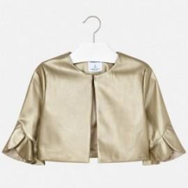 Mayoral 6405-76 Dívčí bunda zlatá barva
