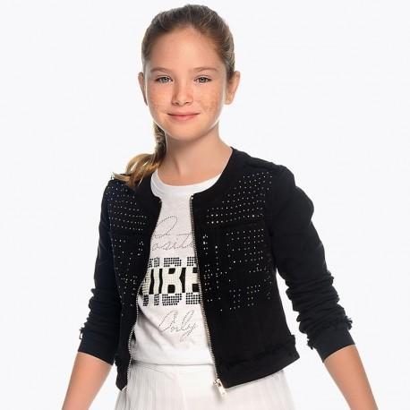 Mayoral 6408-38 Bunda holčičí barva černá