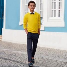 Mayoral 6509-86 Kalhoty chlapci barva granát