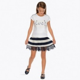 Mayoral 6906-72 Dívčí sukně je tmavě modrá