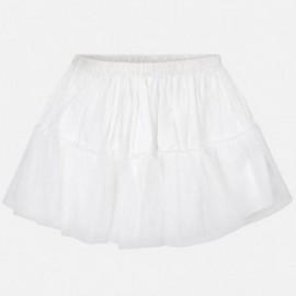 Mayoral 10617-1 dívčí spodnička bílé barvy