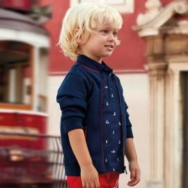 Mayoral 3112-42 tričko chlapec pólo barva námořnictva