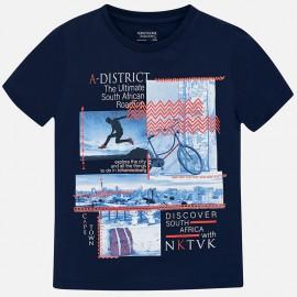 Mayoral 6048-56 Chlapčenská košile barva námořnictva