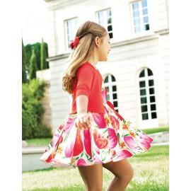 Abel & Lula 5033-2 Dívčí šaty růžová barva