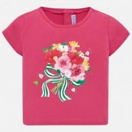 Mayoral 1014-10 Dívčí košile barevná fuchsie
