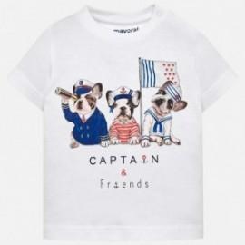 Mayoral 1017-32 tričko chlapci barva bílá