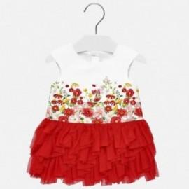 Mayoral 1920-94 Šaty holčičí barva červená