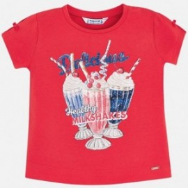 Mayoral 3003-64 tričko holčičí barva červená