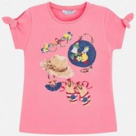 Mayoral 3009-43 tričko děti barva růžový