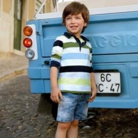 Mayoral 3226-5 Bermudy chlapci barva džíny